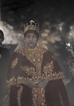 Empress Menen Asfaw/Queen Omega/, Wolete Giorgis, wife of H.I.M. Haile Selassie I of Ethiopia