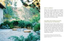 """From """"Gardens Are For Living: Design Inspiration for Outdoor Spaces Hardcover"""" – March 4, 2014, by Judy Kameon"""