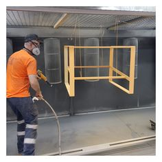 Custom fabricated Marconi Lounge frames in a brass effect powdercoat by our in-house powder-coating team, Specialty Powdercoating. #powdercoating #customfabrication #marconilounge #powdercoated #brass #goldpowdercoat #furnituremaker #commercialfurniture #metalfab #customfab #contractfurniture #madeinaustralia
