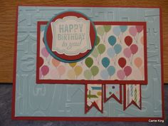 Create in the Sun: August 8 Canal Street Class Cards. CASED from Amy K.