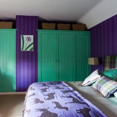 Green And Purple Bedroom A Comfortable And Orderly Purple Girls Bedrooms, Purple  Bedroom Decor,