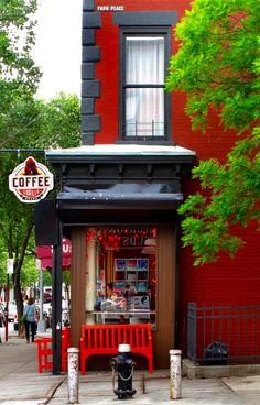 Gorilla Coffee Shop - Park Slope, Brooklyn, New York