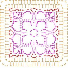 Beautiful granny from blog.lovecrochet.com 🌸💛🌸 #haken #crochet #virka #uncinetto #ganchillo #örgu #örgü #hækeln #hakeln #virkat #crochetaddict #abmlifeiscolorful #colorfulcrochet #crochetlovefrom #croche #crochetersofinstagram #crochetlover #crochetlove #craftastherapy #yarnlover #grannysquare