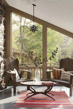 Outdoor Living Inspiration - 6 Incredible Porches - COCOCOZY