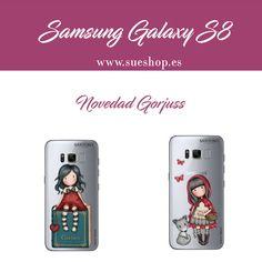 """¿Tienes un Samsung Galaxy S8? Pues mira la última novedad Gorjuss en Fundas Flexibles para proteger tu smartphone y darle un toque de lo más Gorjuss!!En 2 diseños diferentes a elegir: """"My Story"""" y """"Little Red Riding Hood"""". @sueshop_es #gorjuss #fundaflexible #galaxys8 #funda #smartphone #movil #s8 #novedad #sueshop"""