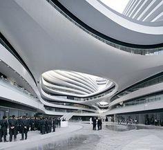 銀河SOHO,北京,中國。