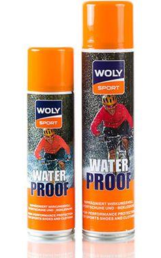 Woly Sport Water Proof - Hochleistungs-Imprägnierspray für Sportschuhe und Sportkleidung