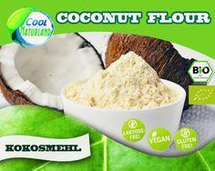 BIO Cocos Flour, Kokosmehl 2 x 1 kg = 2 kg Top Angebot!