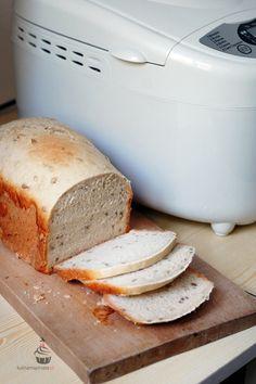 Przepis na chleb błyskawiczny, ekspresowy z automatu.