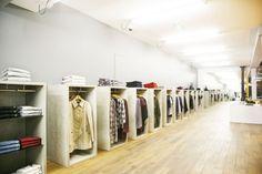 Fred Perry store by BuckleyGrayYeoman, Munich