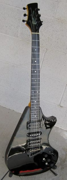 Supernatural guitar with synth access - hand made from scratch by Neil Smith NO CNC