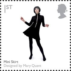 Royal Mail Special Stamps   British Design Classics Mini Skirt. Designed by Mary Quant