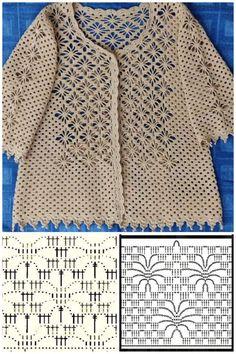 Receba as mais lindas receitas de crochê - Estás en el lugar correcto para decor inspiration Aquí presentamos decorative pillows que está b - Crochet Collar Pattern, Crochet Motif Patterns, Crochet Blocks, Crochet Diagram, Crochet Designs, Crochet Afghans, Easy Crochet, Crochet Lace, Sewing Collars