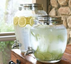 Ok...Let's get ready for Spring and Cookouts!!! I love these for Lemonade!