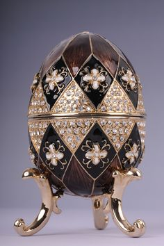 Faberge Easter Egg music box