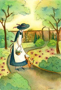 Nicole Wong, Gardener and Cat
