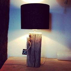 Old oak treewood table light ❇  #oudeiken #design #verlichting  #lamp #boomstam #lampen #boomstamlamp #Dutch #designer  http://www.creativeopen.nl/product/boomstam-tafellamp/