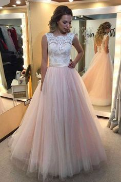 A-Line Prom Dresses #ALinePromDresses, Lace White Prom dresses #LaceWhitePromdresses, Backless Prom Dresses #BacklessPromDresses, Prom Dresses Pink #PromDressesPink, Prom Dresses Long #PromDressesLong