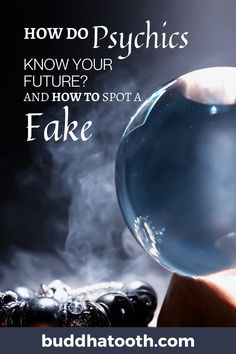 In some cases, you might receive a fantastic accurate prediction that will ultimately happen in your near future. But in most situations, the psychic will only offer some guidelines. Of course, as it is the case with anything in this world, many people claim they have psychic abilities when they actually don't. Read this guide for basic tips to spot a fake psychic. Psychic Predictions, Know Your Future, Psychic Abilities, How To Know, In This World, Knowing You, Told You So, Cases, Shit Happens