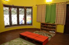 This is the best play school in south Delhi with all basic needs.