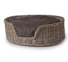 Large Country Hound Woven Dog Basket