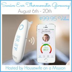 Swaive Ear Thermometer Giveaway