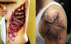 Like hairstyles and clothing, tattoos have also trends from weird to unusual. With tattoos, these gut-wrenching ripped skin tattoos will make you feel the pain seeing the realistic ripped skin will…