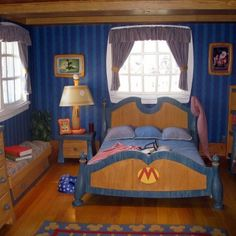 Magic Kingdom Mickey S Toontown Fair Mickey S House Bedroom  - small