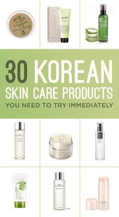 Korean skin care products are taking over American stores because of their amazing benefits. Skin Care products - http://amzn.to/2iSUZHs