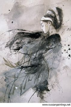 """""""Dead Moon #74"""".  (Artist: Luis Royo)  [Artist homepage: www.LuisRoyo.com]"""