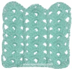Tutorial: punto fantasía tejido a crochet