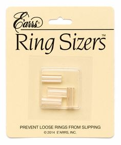 Loving this Plastic Ring Sizers - Set of Three on #zulily! #zulilyfinds