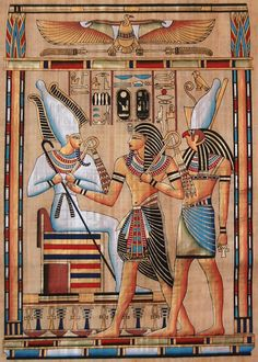 ...  there are a lot of Egyptian symbols on the show. Description from destructoid.com. I searched for this on bing.com/images