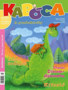 Cover of Kids Magazine Kaboca by balgeza on DeviantArt Magazines For Kids, Stories For Kids, Digital Illustration, Textbook, Dinosaur Stuffed Animal, Illustrations, Deviantart, Cover, Stories For Children