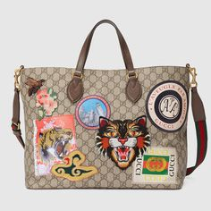 62298a8573 Buy Gucci Gucci Courrier Gg Supreme Shopping Bag now at italist and save up  to EXPRESS international shipping!