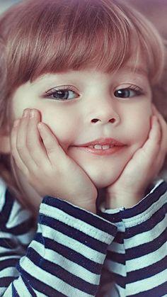 """Anna Pavaga """"Sweet little boy!"""" ?"""