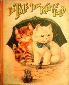 """""""The Tale That Kitty Told"""" - book cover"""