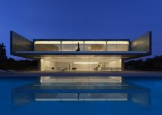 Aluminium House by Fran Silvestre Arquitectos in Madrid, Spain