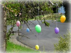 White Wire Easter Egg Tree | Email This BlogThis! Share to Twitter Share to Facebook
