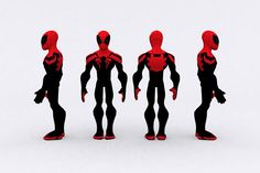 Disney Infinity: Superior Spiderman by jesus-draco Character Model Sheet, Character Modeling, 3d Character, Character Concept, Marvel Characters, Cartoon Characters, Disney Infinity Characters, Character Turnaround, Infinity Art