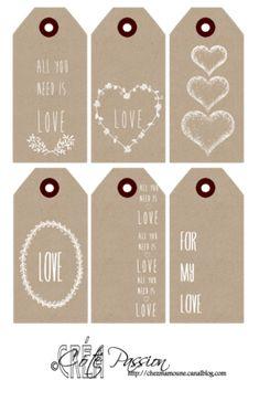 Labels voor geliefden tags for lovers Mini Album Scrapbook, Scrapbook Paper, Printable Labels, Free Printables, Christmas Printables, Christmas Crafts, Diy And Crafts, Paper Crafts, Scrapbooking