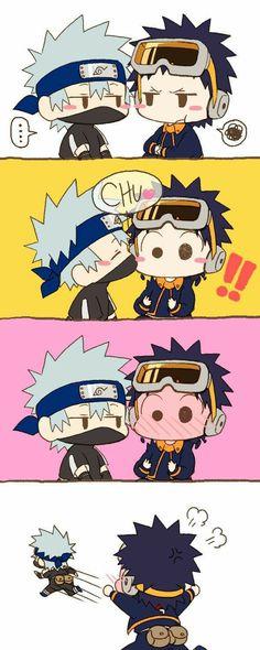 Sasuke X Naruto, Kakashi Hatake, Anime Naruto, Obito Kid, Comic Naruto, Naruto Cute, Naruto Funny, Naruto Shippuden Anime, Gaara