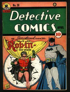 Detective Comics #38 by Bob Kane & Jerry Robinson