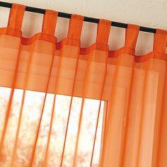 Voilages orange