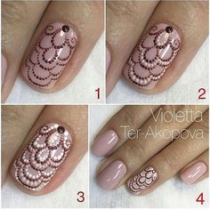 Doodles spezielles Tutorial - Nail Designs and Nail Art Tips, Tricks Fabulous Nails, Gorgeous Nails, Pretty Nails, Fancy Nails, Diy Nails, Diy Ongles, Crome Nails, Nagellack Design, Nagel Hacks
