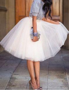 tulle skirt love this skirt!