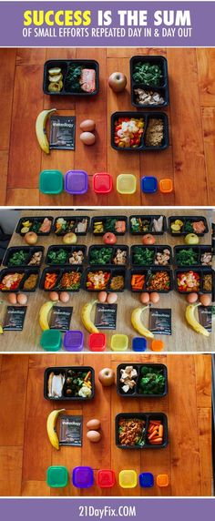#MealPrepMondays // Set yourself up for SUCCESS my making small positive choice daily. Click here to see 5 day's worth of healthy meals + grocery list: http://www.beachbody.com/beachbodyblog/nutrition/meal-prep-mondays-week-9?code=SOCIAL_21F_FB // fit food // foodiefix // meal prep // recipe // recipes // healthy eating // clean eating // diet // nutrition // fitspo // fitspiration //