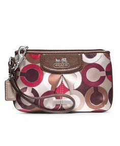 COACH MADISON GRAPHIC OP ART SMALL