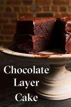 SF-based pastry chef Emily Luchetti's chocolate cake recipe is impressive in its old-school simplicity--and the finished dessert has the perfect frosting-to-cake ratio. Get the recipe and choc one up for yourself.