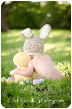 Super adorable Easter photo!..